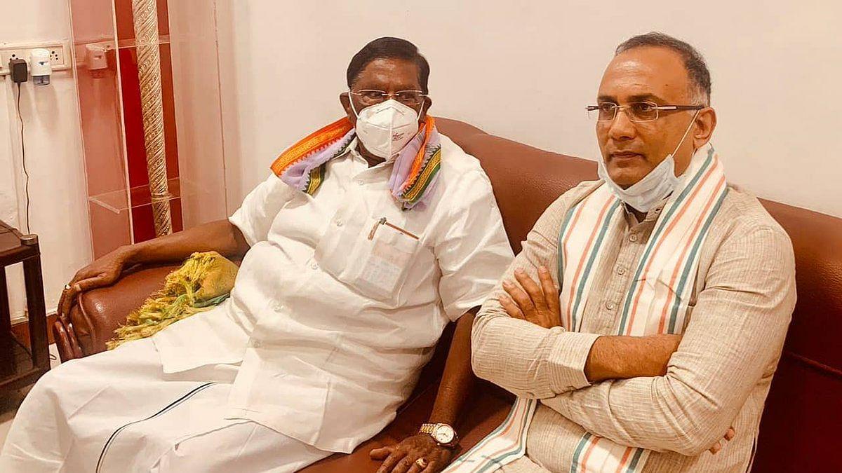 बीजेपी ने अपनी माफिया राजनीति से एक और चुनी हुई सरकार को गिरायाः कांग्रेस