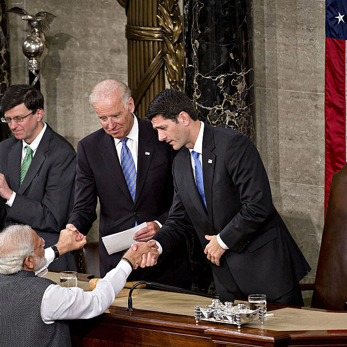 Photo : Andrew Harrer / Bloomberg via Getty Images
