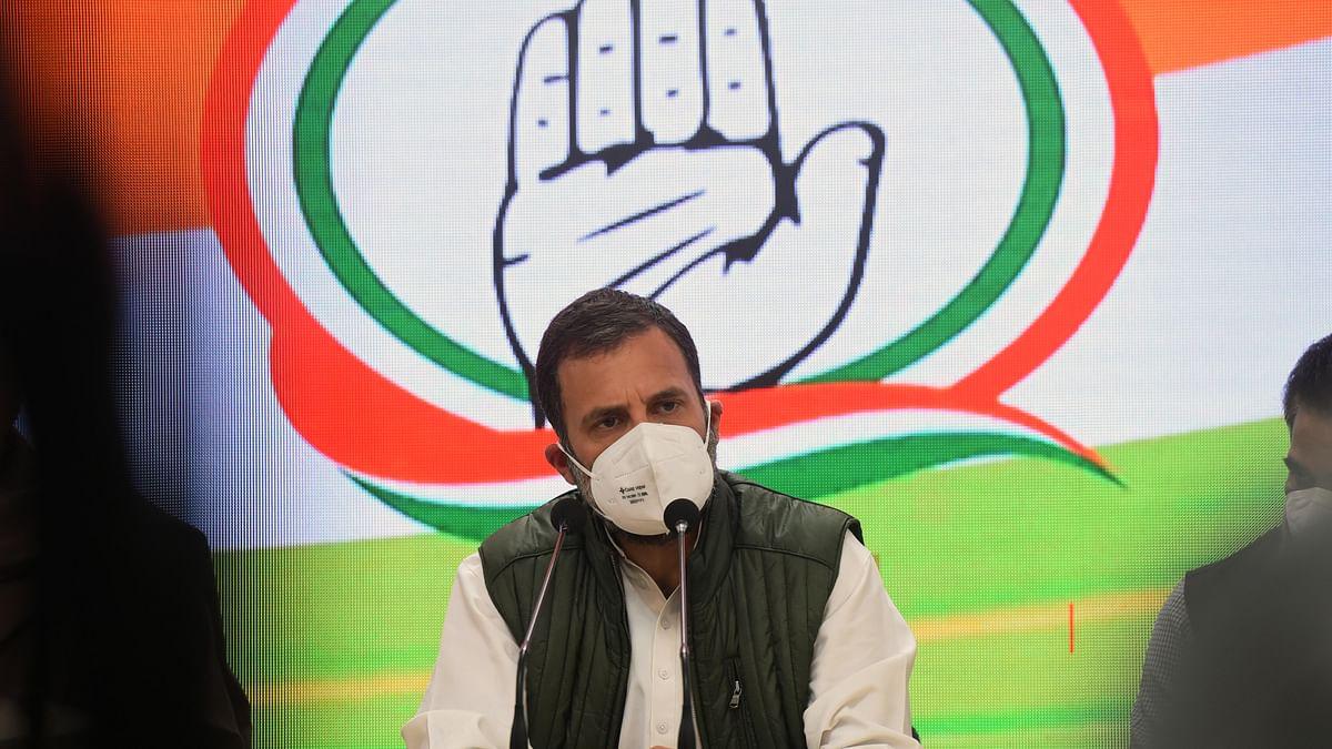 जनता पर महंगाई को लेकर राहुल गांधी का मोदी सरकार पर हमला, कहा- 'जनता से लूट, सिर्फ़ 'दो' का विकास'