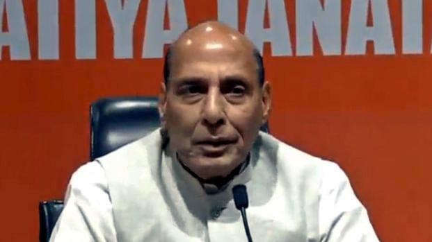 राजनाथ सिंह का बड़ा बयान, कहा- भारत कई मोर्चो पर खतरों का सामना कर रहा, लेकिन हम तैयार हैं