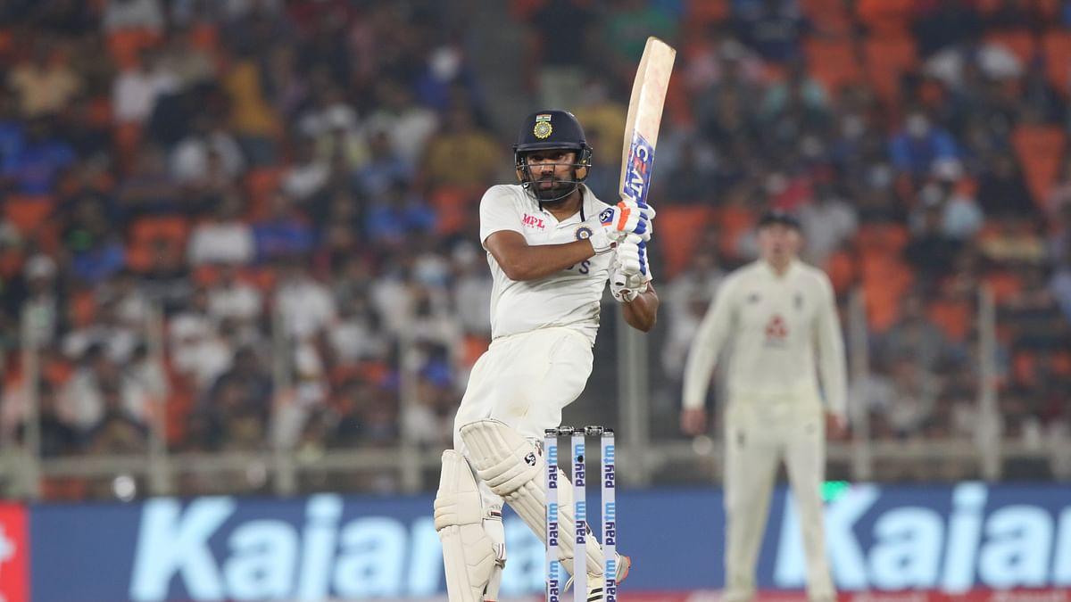अंग्रेजों को भारत ने बनाया चक्कर घिन्नी, हिटमैन रोहित ने छक्का मारकर अहमदाबाद टेस्ट में दिलाई 10 विकेट से जीत