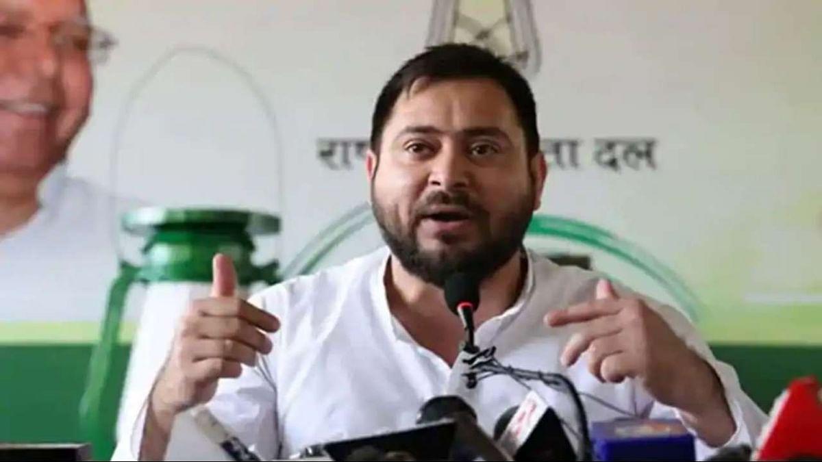 तेजस्वी यादव का नीतीश कुमार पर हमला, कहा- बिहार में RJD शासनकाल के मुकाबले अपराधों में 101.02% की बढ़ोतरी हुई