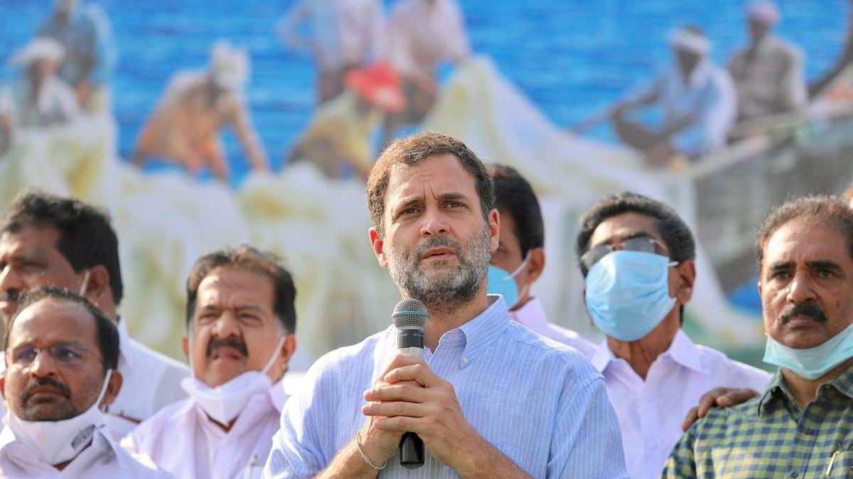 केरल: मोदी सरकार पर फिर हमलावर हुए राहुल गांधी, कहा- जनता की जेब से पैसा लेकर भारत के बिजनेसमैन को दे रही सरकार