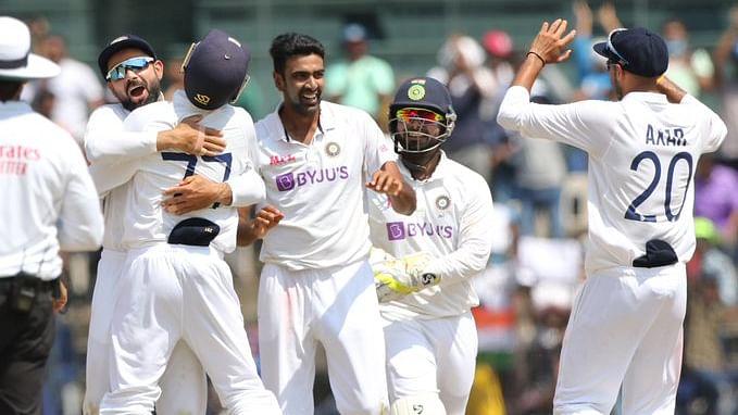 चेन्नई टेस्ट : भारतीय गेंदबाज़ों के सामने इंग्लैंड पस्त, पहली पारी 134 पर ढेर, भारत को 249 रनों की बढ़त