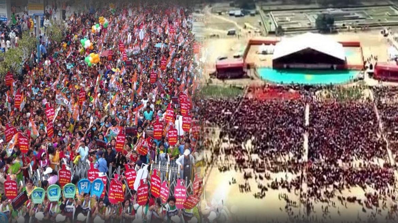 बंगाल में सियासत के सुपर संडे में क्या ममता की सिलिगुड़ी जनसभा ने पानी फेर दिया पीएम की ब्रिगेड ग्राउंड रैली पर!
