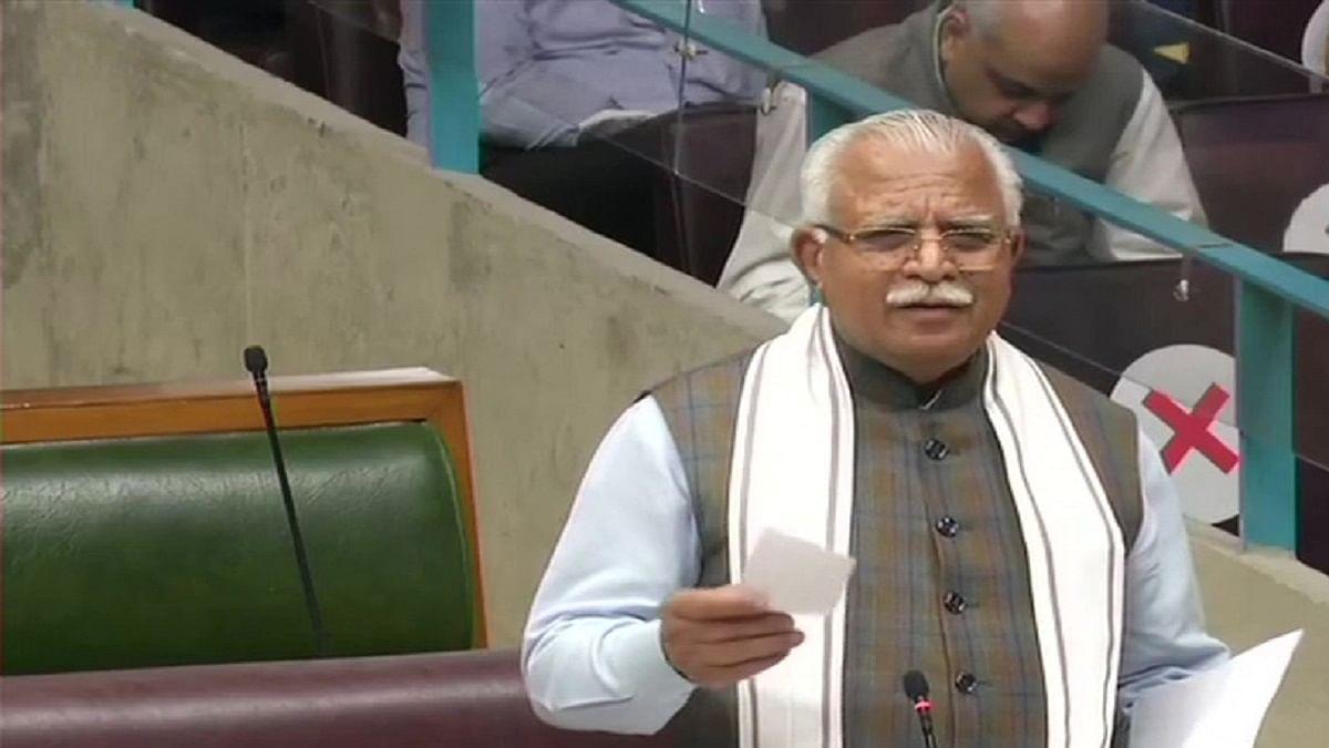 हरियाणा में नेताओं के बहिष्कार ने बढ़ाई बीजेपी की चिंता, खट्टर ने खिलाफ में विधानसभा से प्रस्ताव पास कराया