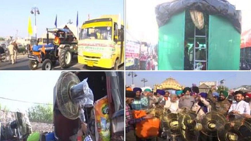 अमृतसर से दिल्ली बड़ी संख्या में किसान रवाना, सर्द रातों को काटने के बाद गर्मी में आंदोलन को धार देने की तैयारी