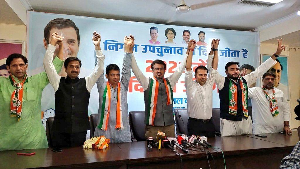 दिल्ली नगर निगम उपचुनाव के नतीजों में कांग्रेस ने जीता दिल, बीजेपी-आप के लिए खतरे की घंटी
