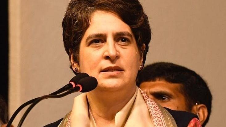 'सीएम योगी कोरोना संक्रमित के संपर्क में आने पर भी कर रहे चुनावी रैली', प्रियंका गांधी का गंभीर आरोप