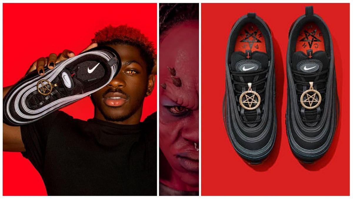 वीडियो: इंसानी खून से बने 'शैतानी जूते' ने मचाया बवाल',  Nike ने किया केस, कीमत होश उड़ा देगी