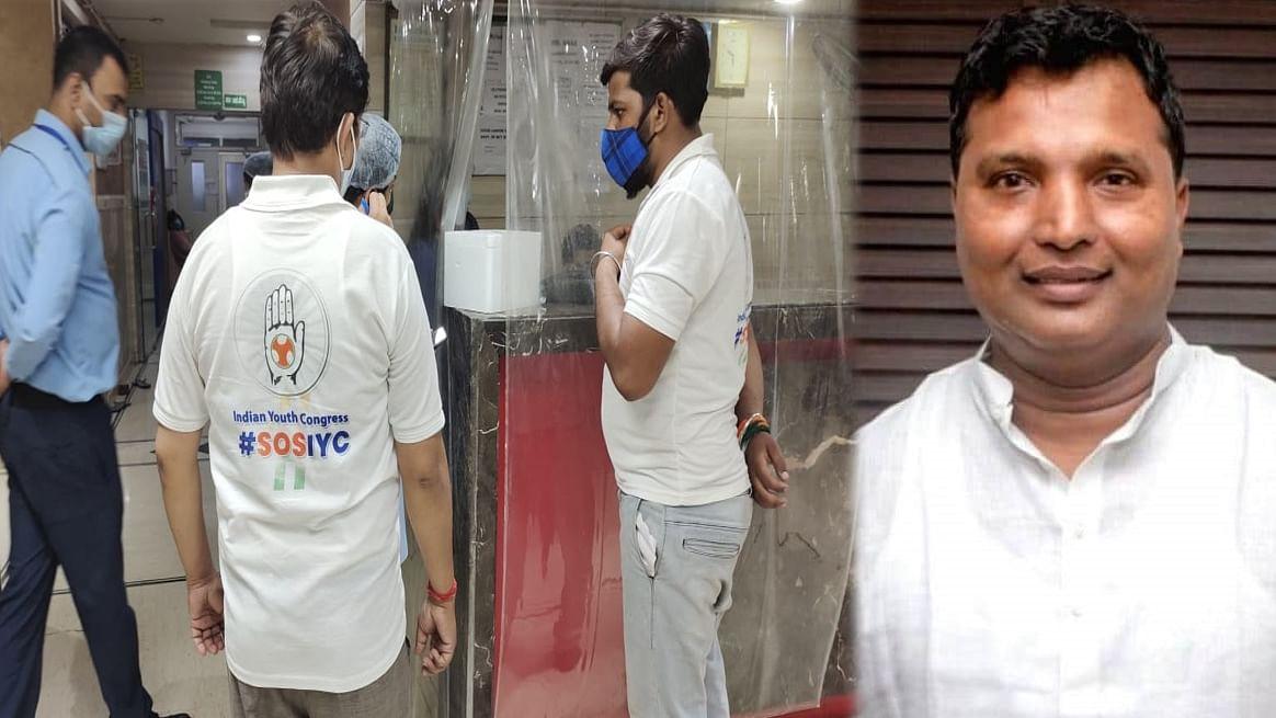 युवा कांग्रेस प्रमुख श्रीनिवास देवदूत बनकर कर रहे मदद, कोविड बेड से लेकर ऑक्सीजन सिलेंडर तक का कर देते हैं इंतजाम
