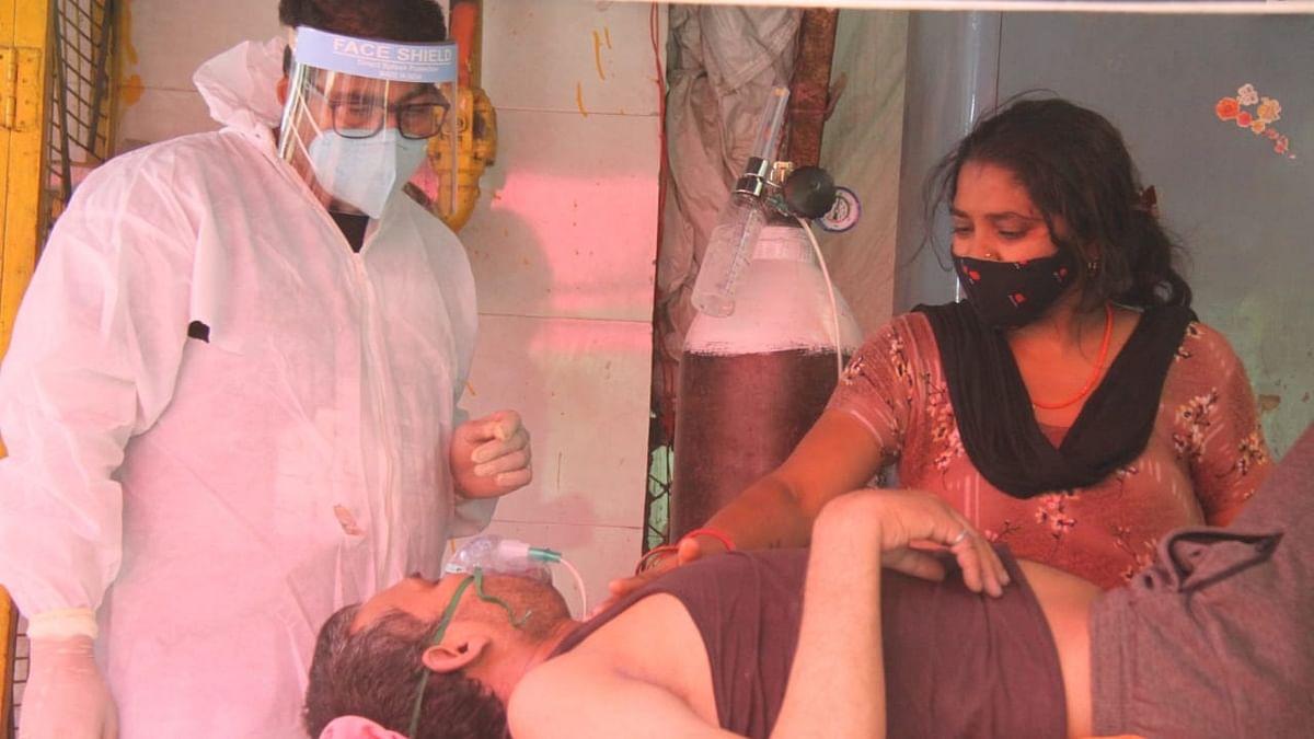 दिल्ली में कोरोना से हाहाकार, 1 दिन में रिकॉर्ड 380 मौतें, संक्रमण दर बढ़कर 35 फीसदी हुई