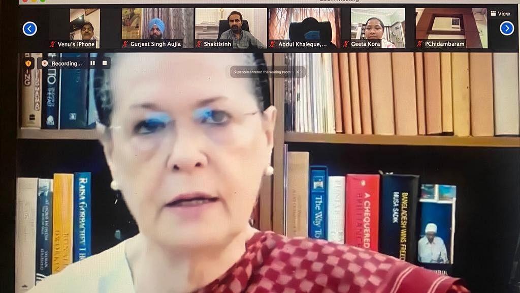 कोरोना संकट पर सोनिया गांधी बोलीं- मोदी सरकार की अक्षमता के चलते डूब रहा देश, जनता के लिए नहीं है कोई सहानुभूति