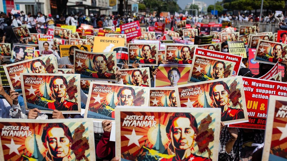 दुनिया की 5 बड़ी खबरें: म्यांमार की अपदस्थ नेता आंग सान सू की अदालत में हुईं पेश और अमेरिका के कई प्रातों में गोलीबारी