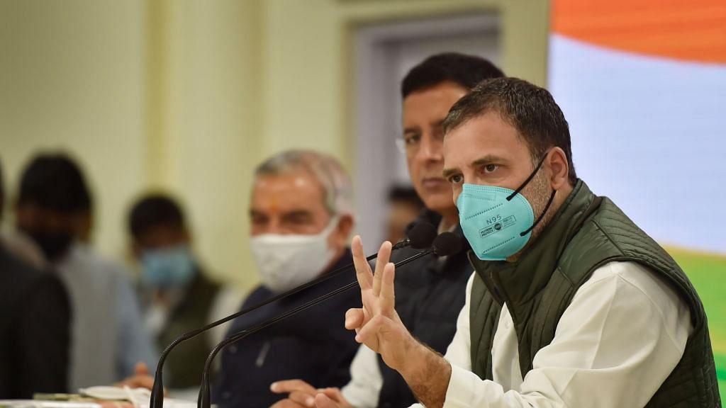 राहुल का PM मोदी पर तंज, कहा- वैक्सीन, ऑक्सीजन और दवाओं के साथ PM भी हैं गायब, बचा है तो बस सेंट्रल विस्टा...