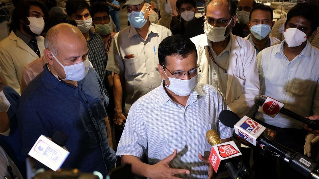 दिल्ली को अभी वैक्सीन मिलने की कोई उम्मीद नहीं, लॉकडाउन से काबू में आ रहा है कोरोना : केजरीवाल
