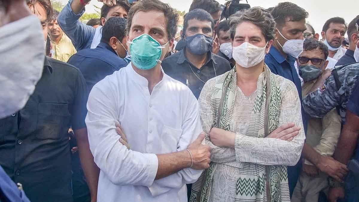 राहुल और प्रियंका गांधी की चुनौती- मोदी जी, बच्चों की वैक्सीन विदेश क्यों भेज दी? मुझे भी गिरफ्तार करो