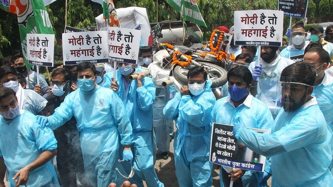 महंगाई की मार के खिलाफ कांग्रेस का हल्ला बोल, पेट्रोल-डीजल की बढ़ती कीमतों पर देशभर में करेगी विरोध प्रदर्शन