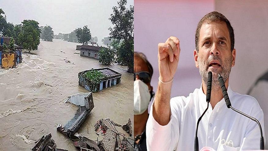 बिहार में बाढ़ प्रभावित परिवारों को लेकर राहुल गांधी ने व्यक्त की संवेदना, कांग्रेस कार्यकर्ताओं से की मदद की अपील