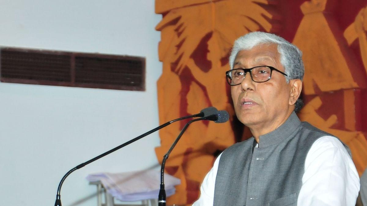 बीजेपी शासित त्रिपुरा में पूरी तरह अराजकता और कुशासन, विपक्षी पार्टी कार्यकर्ताओं पर हो रहे हमले: माणिक सरकार