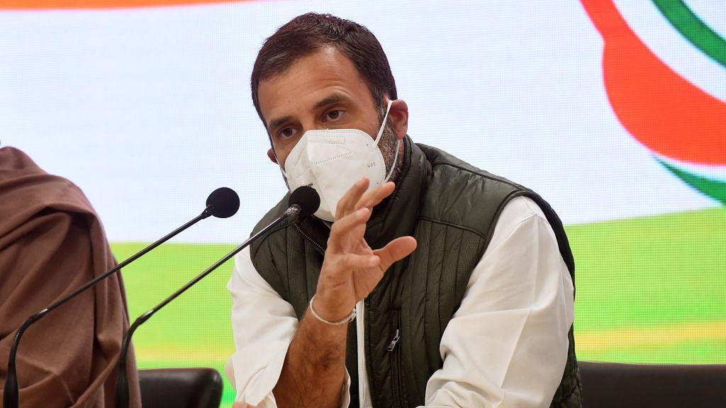 महंगे तेल पर राहुल गांधी का मोदी सरकार पर तंज, कहा- महंगाई का विकास जारी, PM की बस मित्रों को जवाबदारी!
