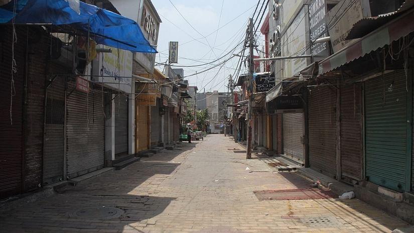 दिल्ली का लाजपत नगर बाजार किया गया बंद, कोविड मानदंडों के उल्लंघन में बंद होने वाला राजधानी का तीसरा मार्केट