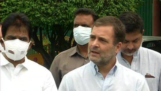 जासूसी कांड: बीजेपी पर भड़के राहुल गांधी, 'इस्तीफा दें गृहमंत्री अमित शाह, मामले की हो न्यायिक जांच'