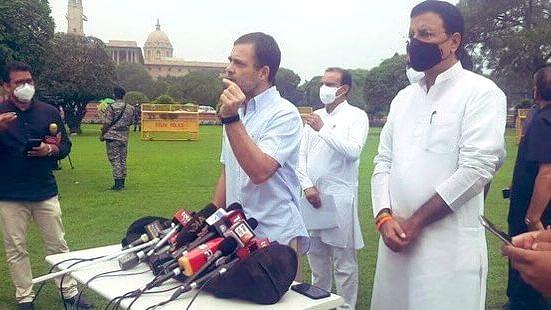 सुप्रीम कोर्ट की निगरानी में हो पेगासस कांड की जाँच, पता चले कि देशद्रोह किसने किया - राहुल गांधी