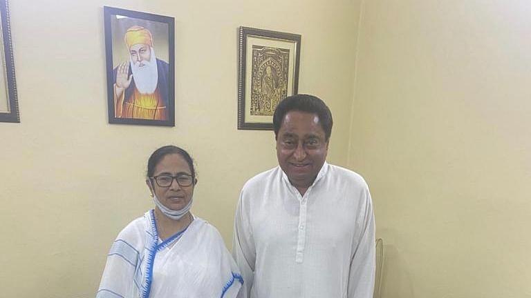 दिल्ली में सीएम ममता और कांग्रेस नेता कमलनाथ के बीच मुलाकात, जानें क्या हुई बात