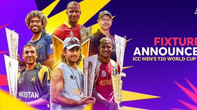 T20 World Cup: 28 दिन तक 12 टीमों में होगा घमासान, इस दिन पाकिस्तान से भिड़ेगा हिंदुस्तान, ये है पूरा शेड्यूल