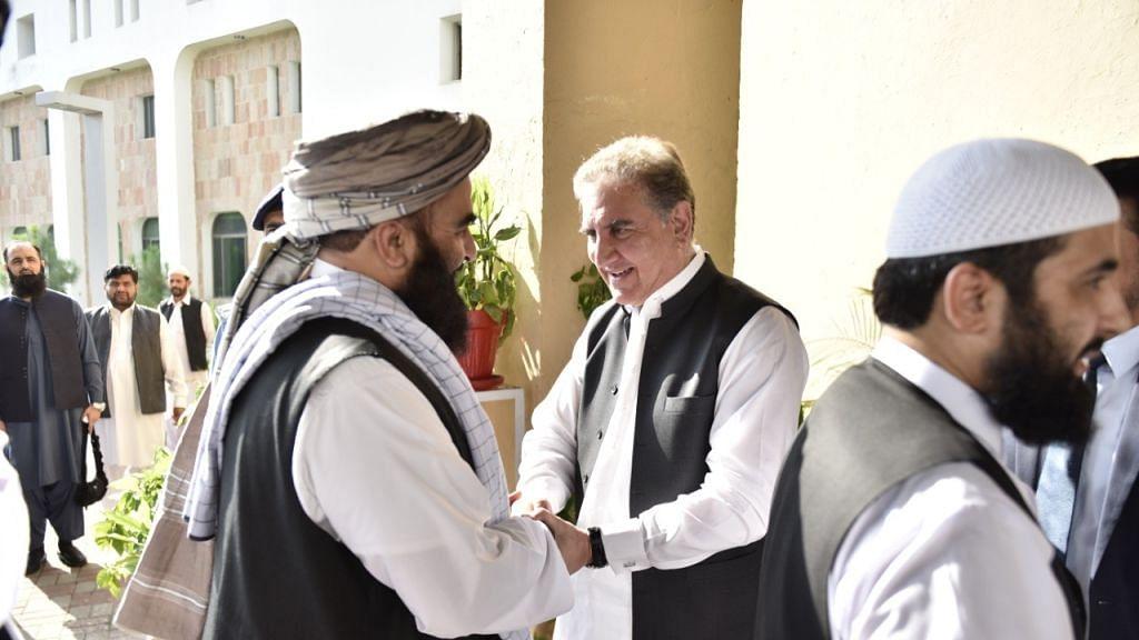 अफगानिस्तान को आतंक का 'हब' बनाने की कोशिश में पाकिस्तान, तालिबान के लिए विश्व समर्थन जुटाने की मुहिम पर कुरैशी