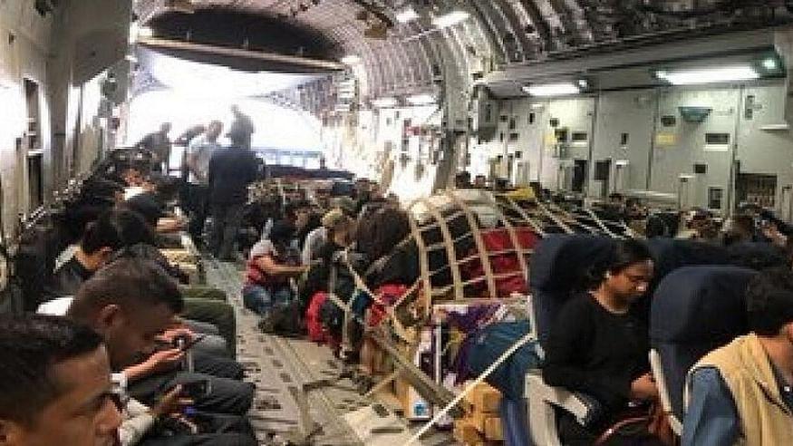 अफगानिस्तान के काबुल से स्वदेश लौटे 120 भारतीय, गुजरात के जामनगर लेकर पहुंचा एयरफोर्स का विमान