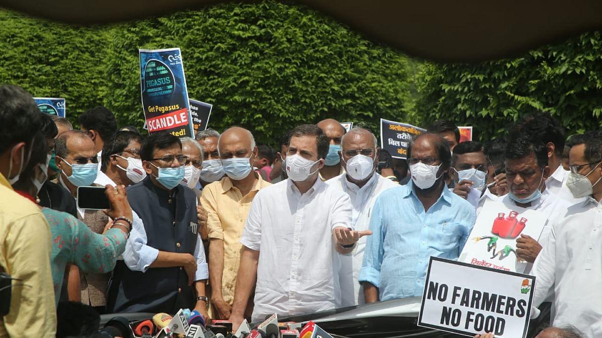 'संसद में लोकतंत्र की हत्या, राज्यसभा में सांसदों की हुई पिटाई', राहुल ने सरकार पर लगाए कई गंभीर आरोप