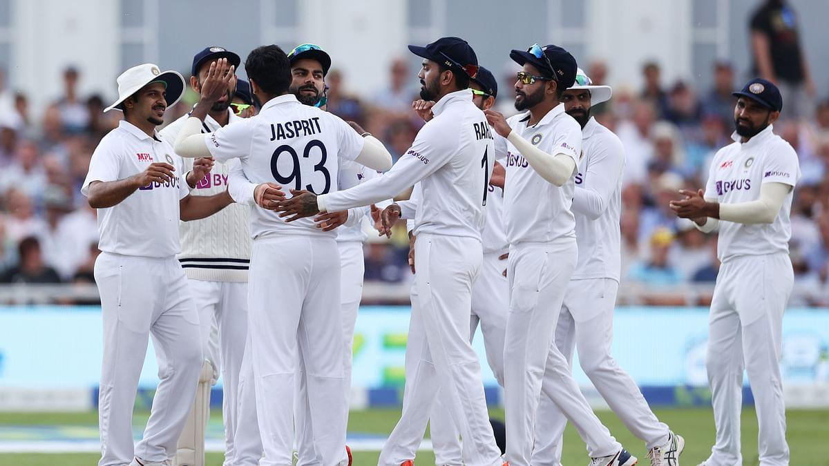 नॉटिंघम टेस्ट : बुमराह और शमी की गेंदबाजी के आगे पस्त हुए अंग्रेज, इंग्लैंड की पहली पारी 183 रनों पर ढेर