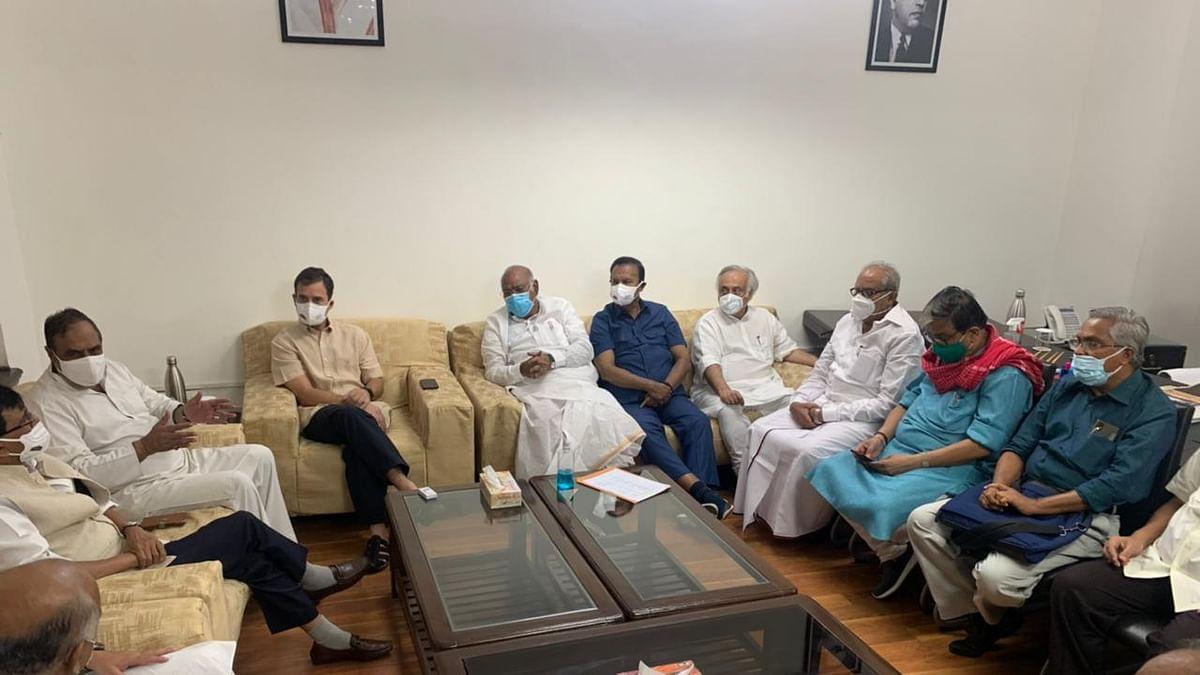 विपक्षी दलों ने की बैठक, कहा- लोकतंत्र और लोगों पर मोदी सरकार के हमले के खिलाफ विपक्ष एकजुट