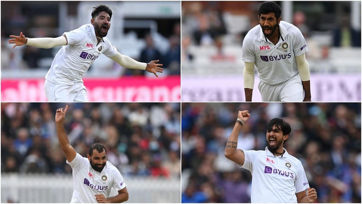 लॉर्डस पर जीत से गदगद 'विराट' सेना, भारत के तेज गेंदबाजों के सामने ऐसे धराशायी हुई इंग्लैंड की टीम