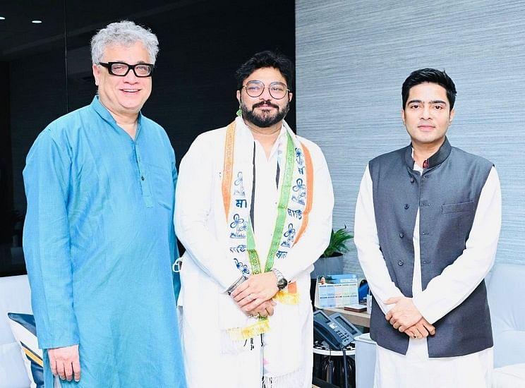 मोदी के पूर्व मंत्री बाबुल सुप्रियो ने थामा TMC का दामन, BJP से नाराज होकर राजनीति से सन्यास का किया था ऐलान