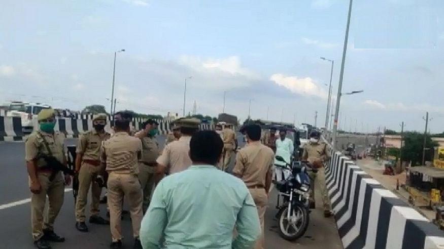 यूपी में अपराधियों का तांडव! आगरा-कानपुर हाईवे पर बदमाशों ने एक शख्स को गोलियों से भूना, जांच में जुटी पुलिस
