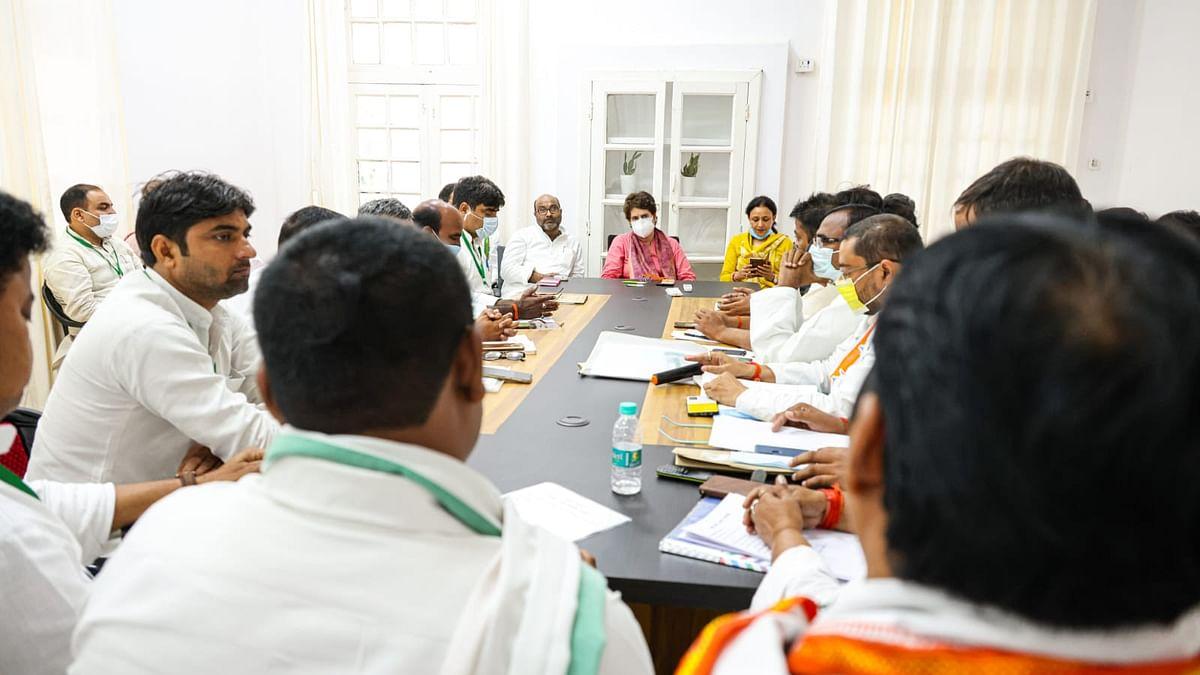 कांग्रेस ने यूपी में फूंका चुनावी बिगुल, 'प्रतिज्ञा यात्रा' निकालकर उजागर की जाएंगी योगी सरकार की नाकामियां