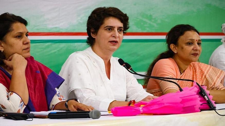UP Election 2022: प्रियंका गांधी का बड़ा ऐलान, कहा- यूपी में 40% महिलाओं को टिकट देगी कांग्रेस