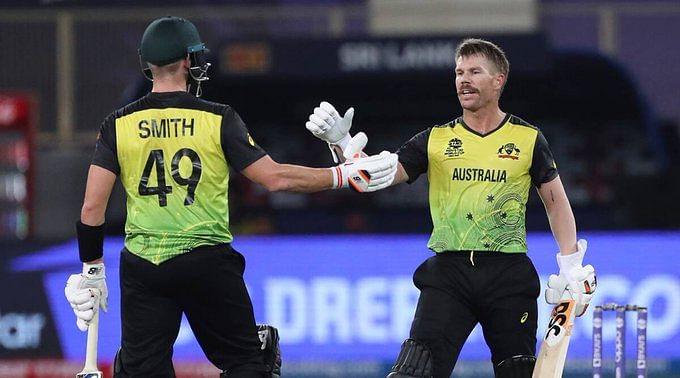 T20 वर्ल्ड कपः ऑस्ट्रेलिया ने श्रीलंका को आसानी से हराया, धमाकेदार पारी खेल वॉर्नर बने मैच के हीरो