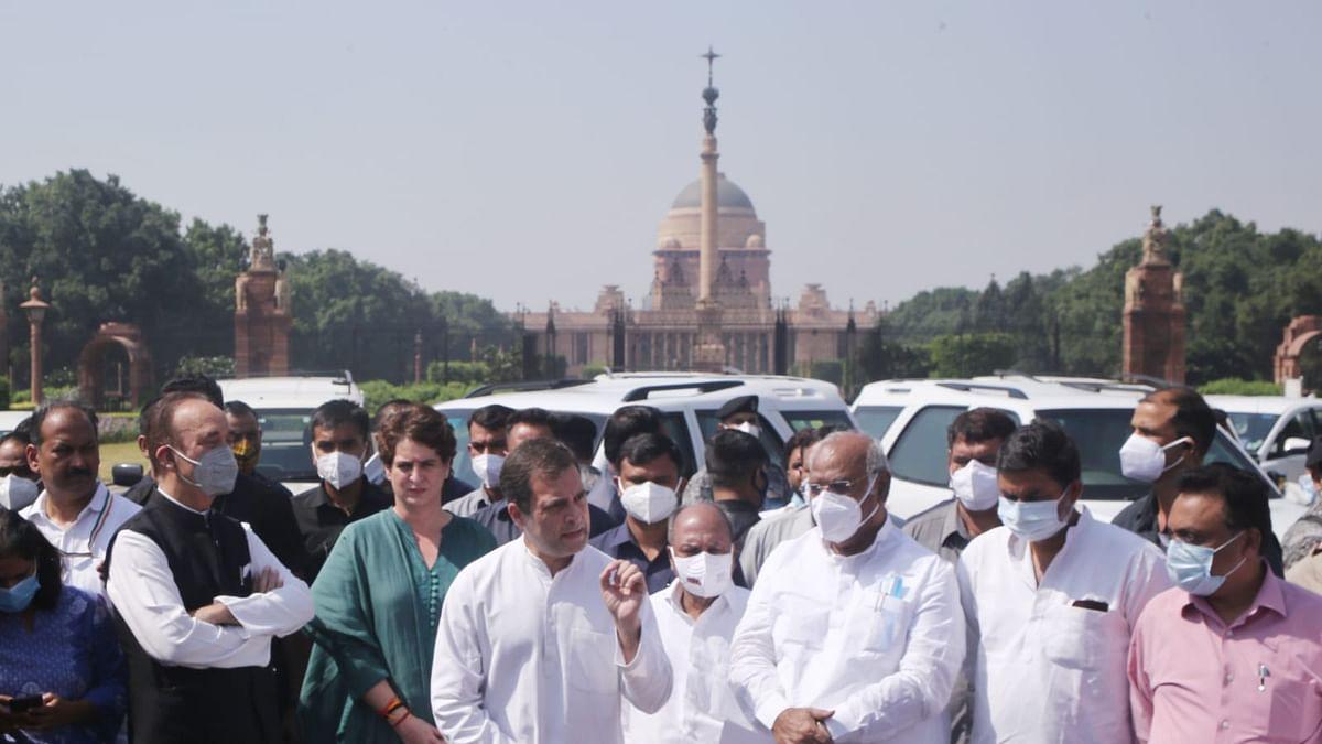 लखीमपुर हिंसा: राष्ट्रपति से मिला कांग्रेस प्रतिनिधिमंडल, राहुल बोले- मंत्री हटें, SC के जजों की निगरानी में हो जांच