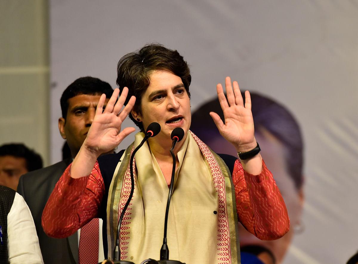 प्रियंका गांधी का बीजेपी सरकार पर हमला, कहा- इनकी नीयत और नीति दोनों में किसान विरोधी रवैया है
