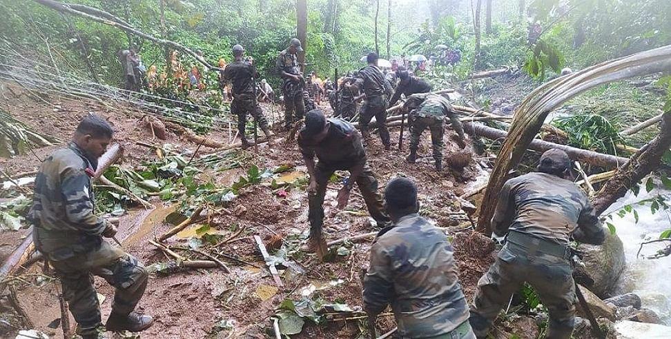 केरल में बारिश और भूस्खलन से भारी तबाही, 15 लोगों की गई जान, सेना-NRF की टीमें राहत और बचाव कार्य में जुटीं