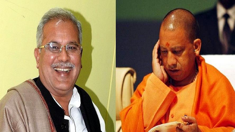 भूपेश बघेल देश के सबसे लोकप्रिय मुख्यमंत्री, यूपी में मुश्किल में योगी, एक तिहाई लोग नाराजः सर्वे