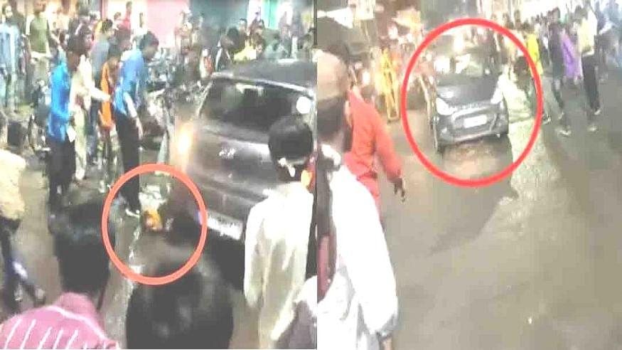 मध्य प्रदेश के भोपाल में मूर्ति विसर्जन जुलूस में तेज रफ्तार कार का तांडव, कई लोगों को कुचला, मची भगदड़!