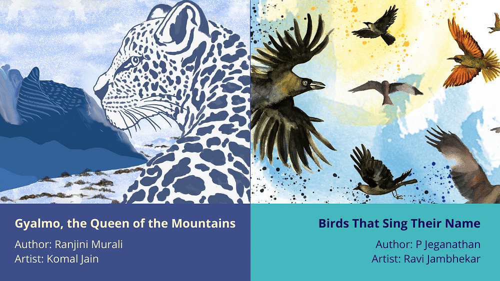 Launching two children's books about India's wildlife on World Wildlife Day