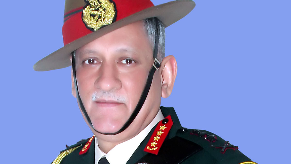 General Bipin Rawat takes charge as first CDS