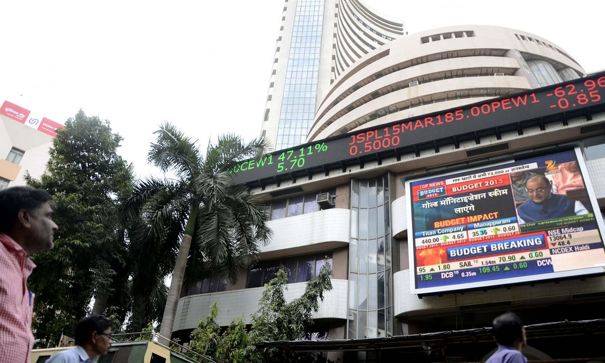 Equities end flat; banking, healthcare stocks fall