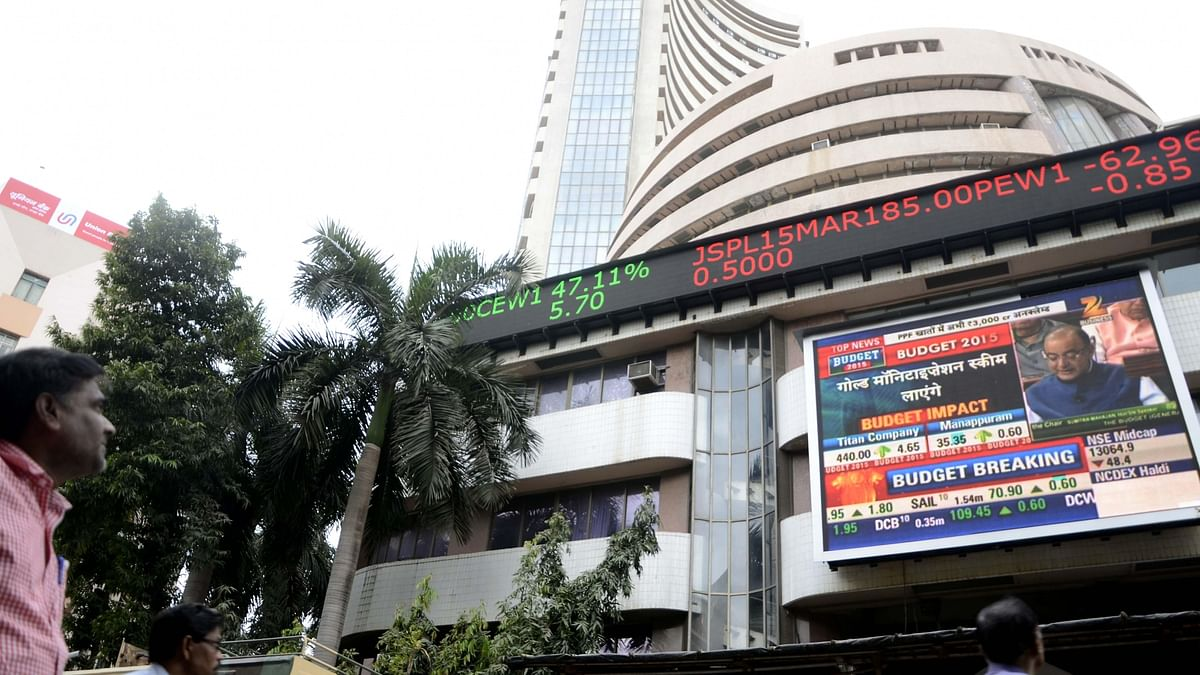Sensex falls over 1,600 points, Nifty down 450